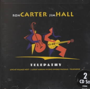 TELEPATHY BY CARTER,RON/HALL,JI (CD)