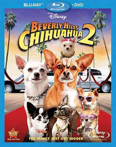 BEVERLY HILLS CHIHUAHUA 2 BY YUSTMAN,ODETTE (Blu-Ray)